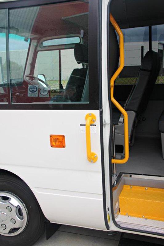 Uniting Care Toyota Coaster Bus Wheelchair Conversion